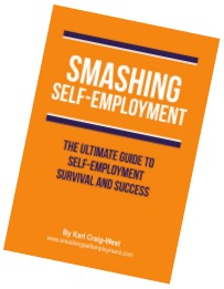 Smashing Self Employment by Karl Craig-West of Buzz Website Design in Leicester
