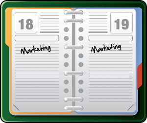 Why you should put marketing in your diary